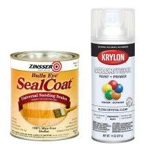 Seal coat and Clear coat