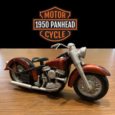 1950 Panhead motorcycle project