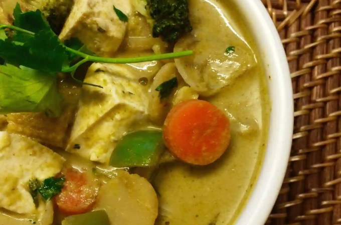 Best Vegan Green Thai Curry