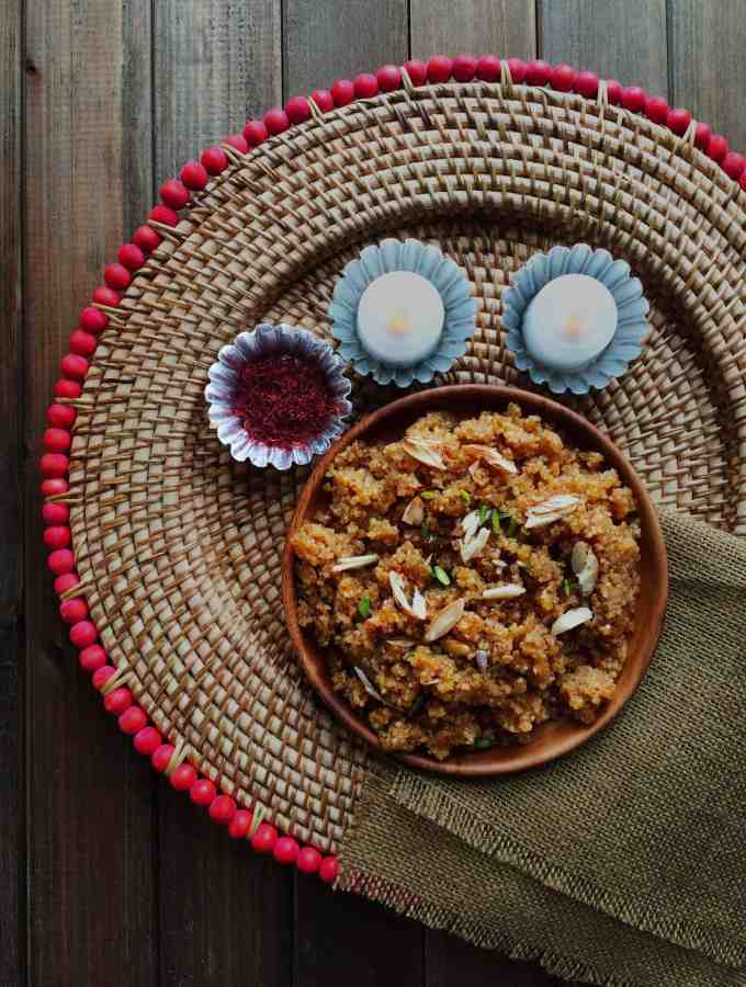 Lapsi – cracked wheat sweet