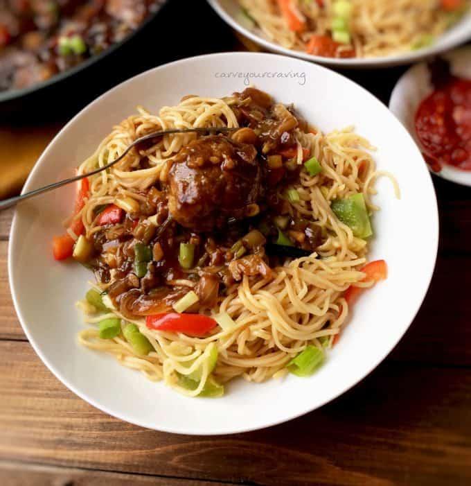 veg MANCHURIAN indo chinese recipe
