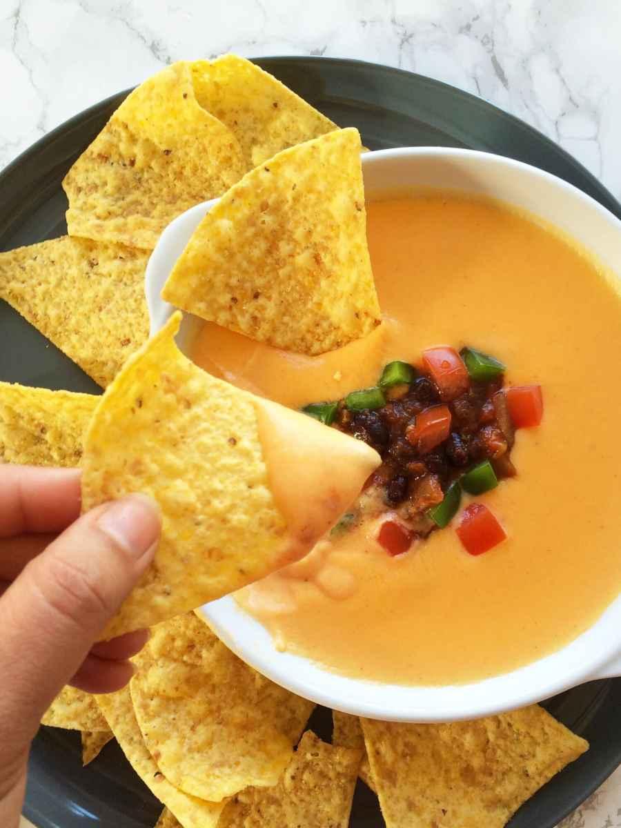 healthy nacho cheese sauce