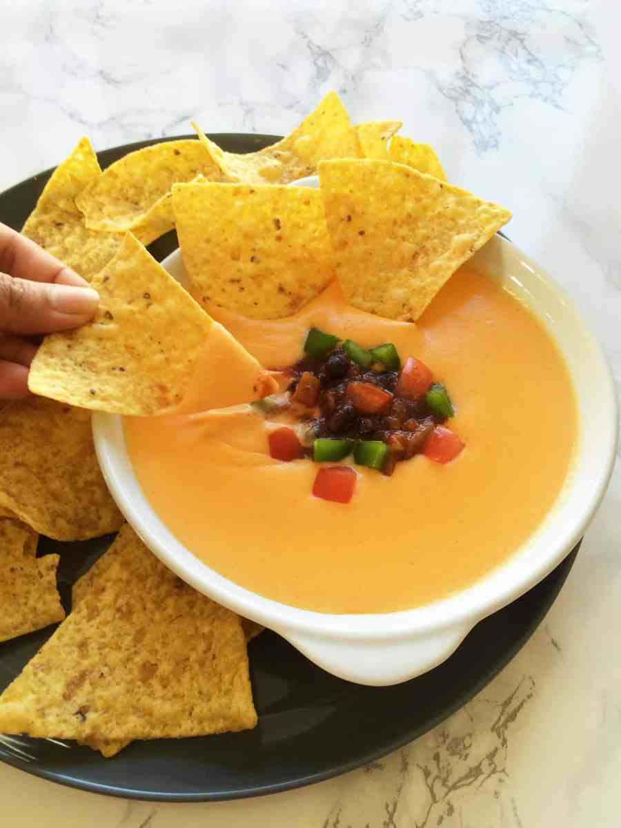 healthy nacho cheese sauce