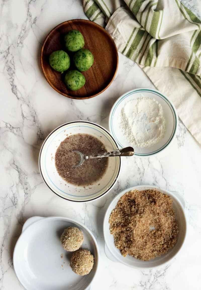 healthy hariyali kebabs