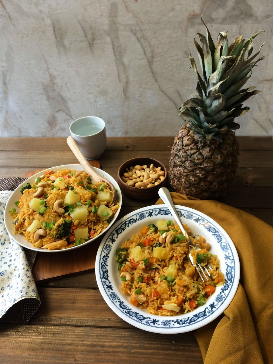 Vegan Thai Pineapple Fried Rice