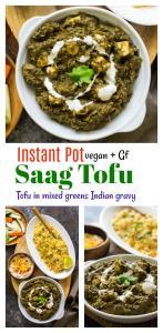 Saag Paneer Tofu
