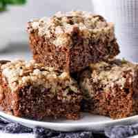 Chocolate Coffee Crumb Cake