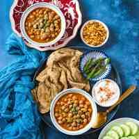 Chole Without Onion Garlic & Tomatoes