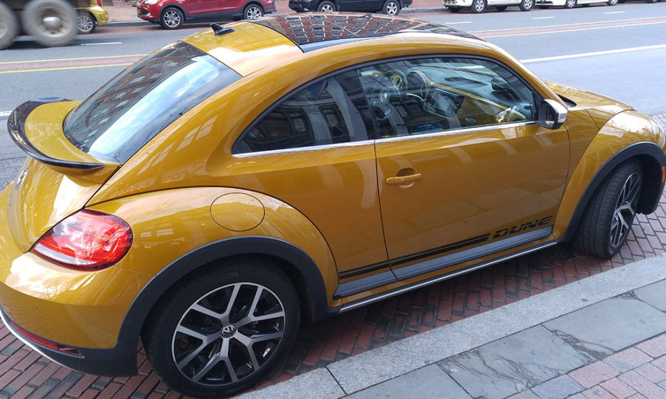 2016 VW Beetle Dune Edition