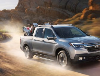 Honda Reinvents The Pickup Truck (Again) With the Honda Ridgeline