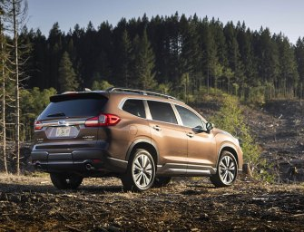 New Subaru Ascent Takes The Brand To The Summit