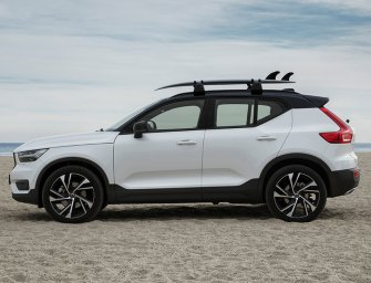 Volvo XC40 Fills Out Its SUV Series With A Smart Compact Crossover
