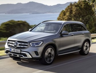 Mercedes GLC300 Does The Job Without Fanfare