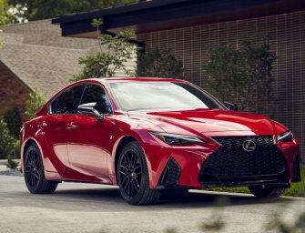 Lexus IS 350 F-Sport Striking Looks Stir Driving Passion