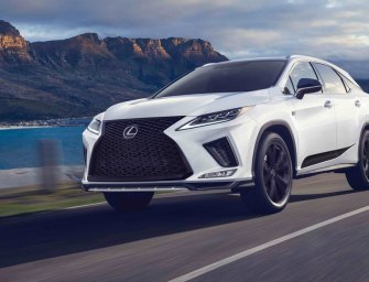 2021 Lexus RX 350 SE Black Line Keeps Luxe SUV In The Lead