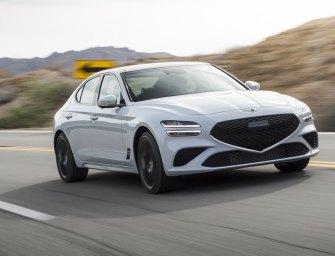 2022 Genesis G70 Sport Prestige Steps Up To Challenge