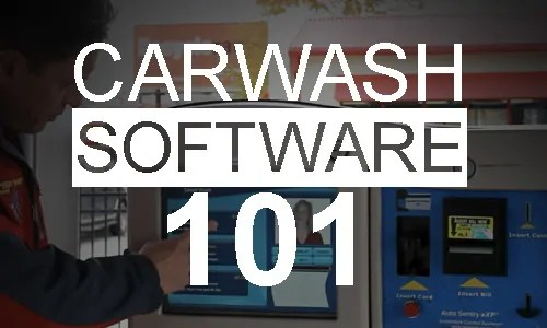 car wash software 101