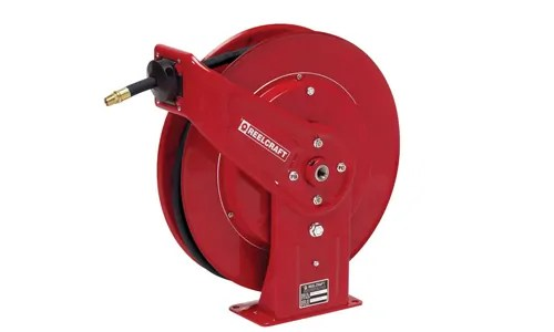Reelcraft retractable pressure washer hose reel