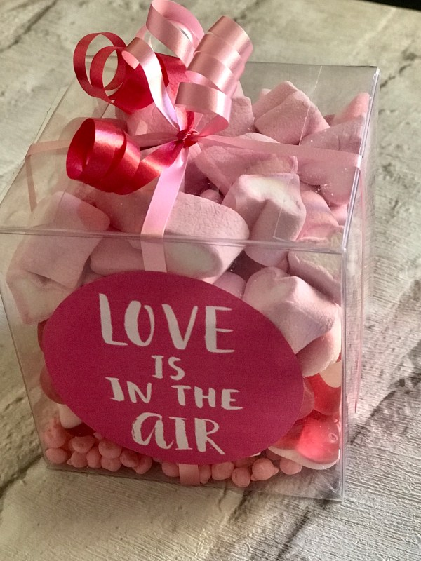 Valentines Sweet Cube