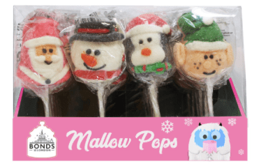 Xmas Mallow Lollipops