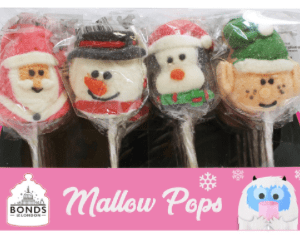 Xmas Marshmallow Lollipops