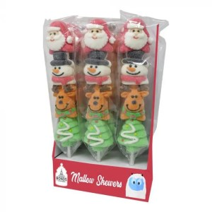 Mallow Xmas Skewers