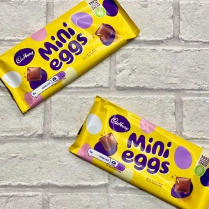 Mini Egg Chocolate Bar