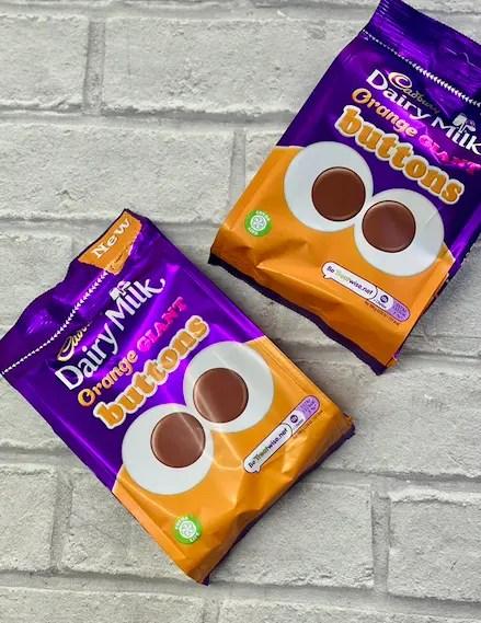 Chocolate Orange Buttons