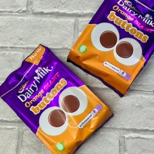 Cadbury's Orange Giant Buttons