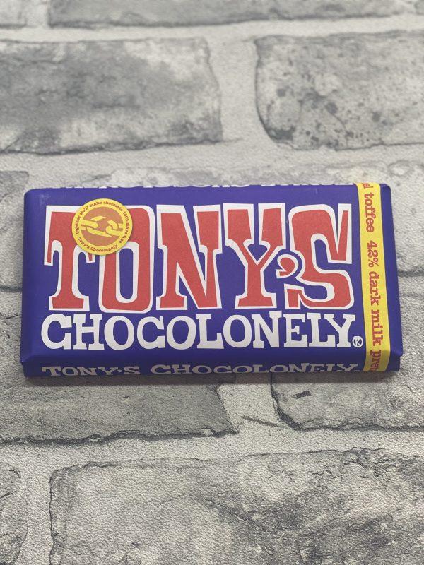 Tony's Chocolonely - Dark Milk Pretzel Toffee 42%