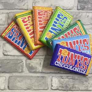 Tony's Chocolonely – Dark Milk Pretzel Toffee 42%