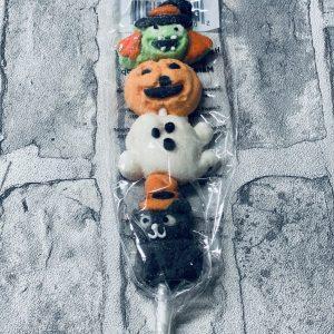 Halloween Themed Mallow Skewers