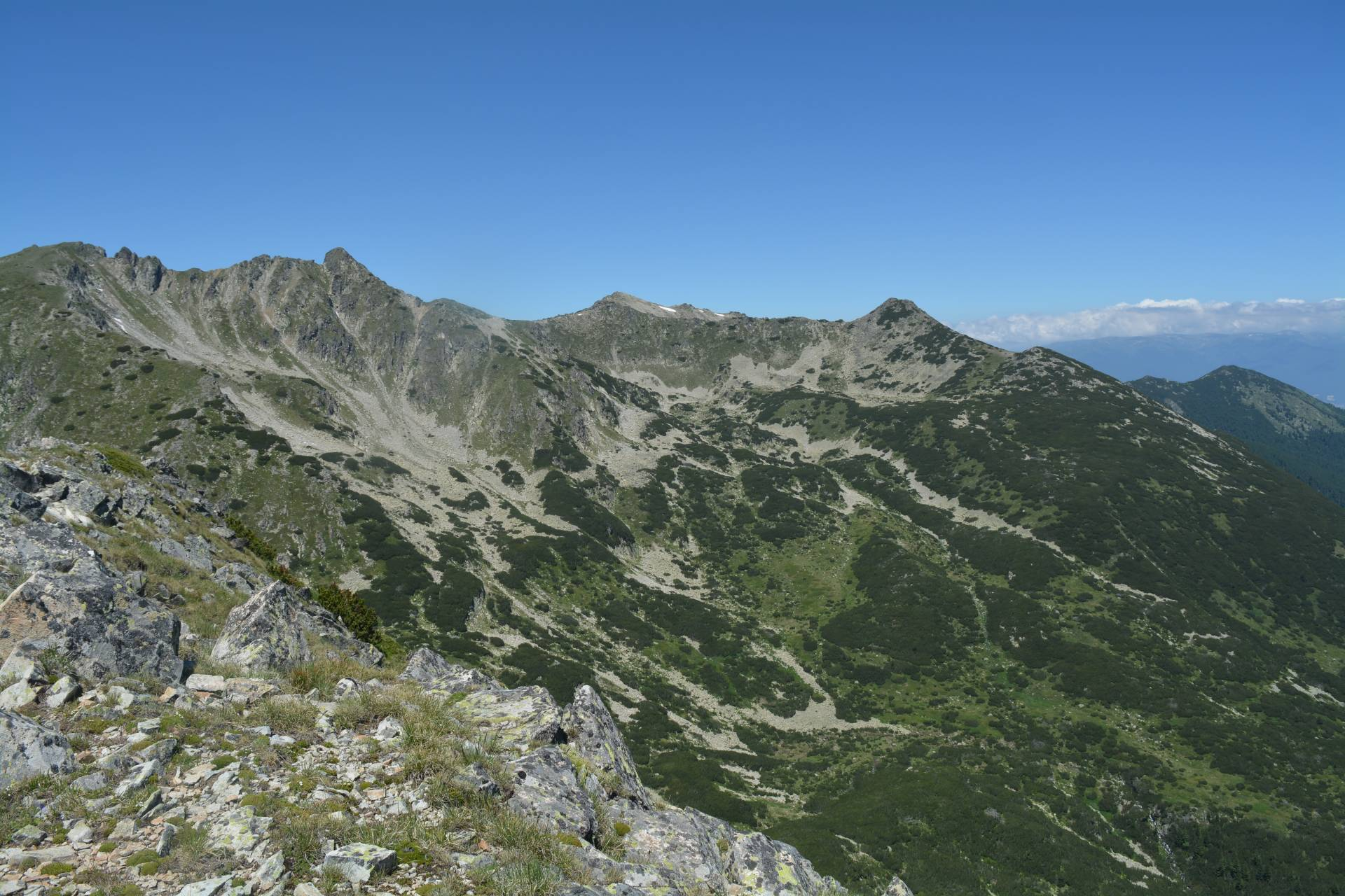 Hiking in the Pirin Mountains, Bulgaria