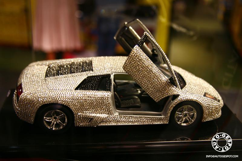 Lamborghini Murcielago With 7668 Swarovski Crystals