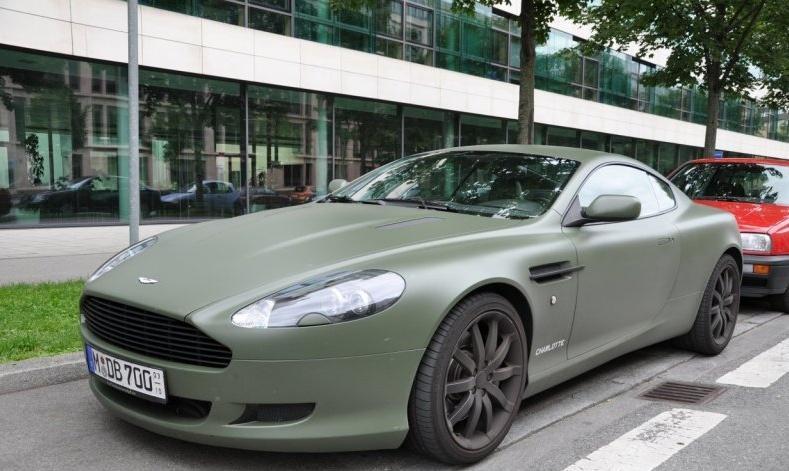 Aston Martin Db9 Green Mat Car News