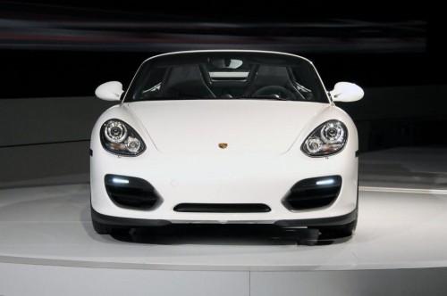 Porsche Boxster Spyder at LA 2009