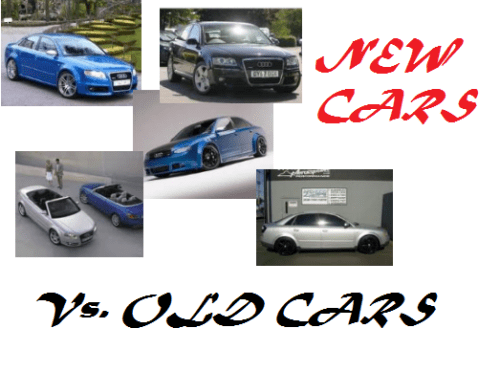 New Cars vs. Old Cars