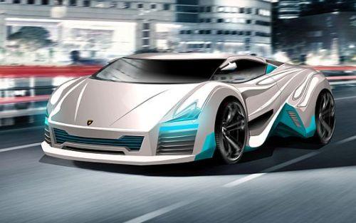 Lamborghini Rompighiaccio Electric Concept