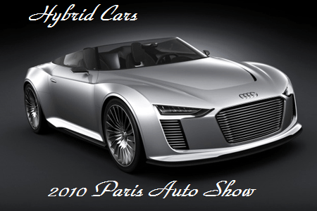 Paris Auto Show Hybrid Cars