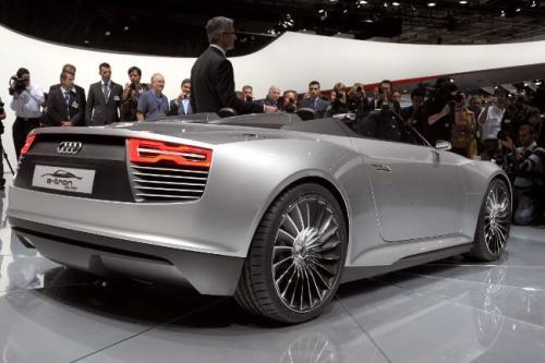 France Audi Paris Auto Show