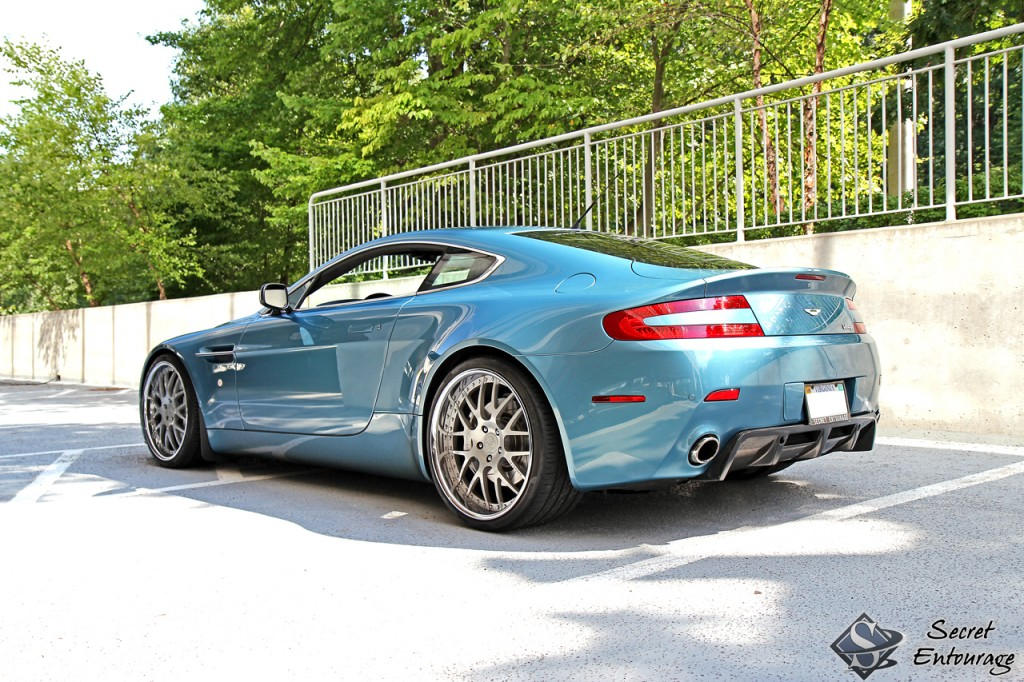 Aston Martin Vantage By Secret Entourage Car News