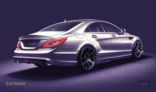 Mercedes CLS tuning by Carlsson