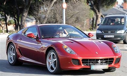 Cristiano Ronaldo Ferrari 599 GTB