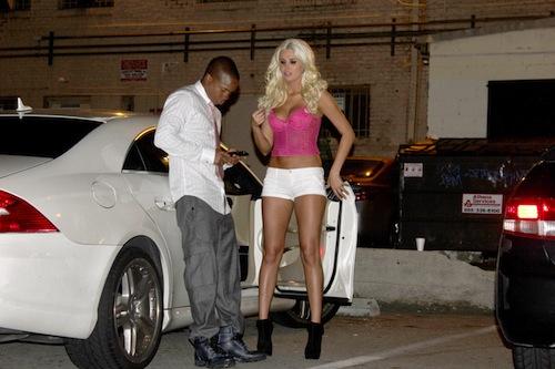 Karissa Shannon on Her Boyfriend Mercedes CLS