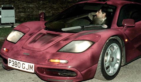 Mr. Bean McLaren F1 Accident