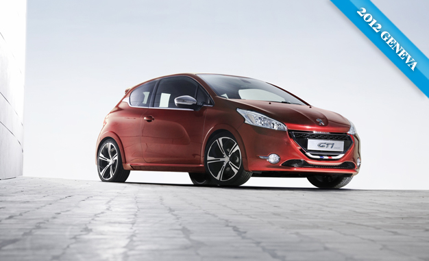 2012 Geneva Auto Show Peugeot 208 Gti And 208 Xy Concepts Car News