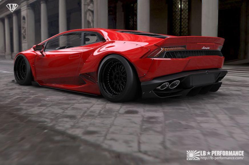 Lamborghini Huracan Liberty Walk Is an Impressive Ride ...
