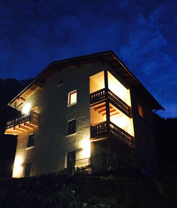 Casa Alfredino by night - the stars skys here at night are pretty special!