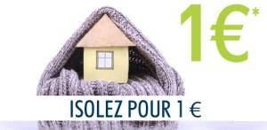 Isolez votre toit pour 1 euro (€)