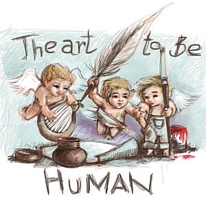 "Afisul festivalului ""The Art to be Human"""